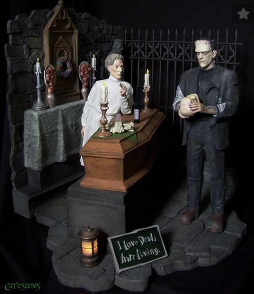 Featured Resin Crypt Model Kits At Jerseyfest